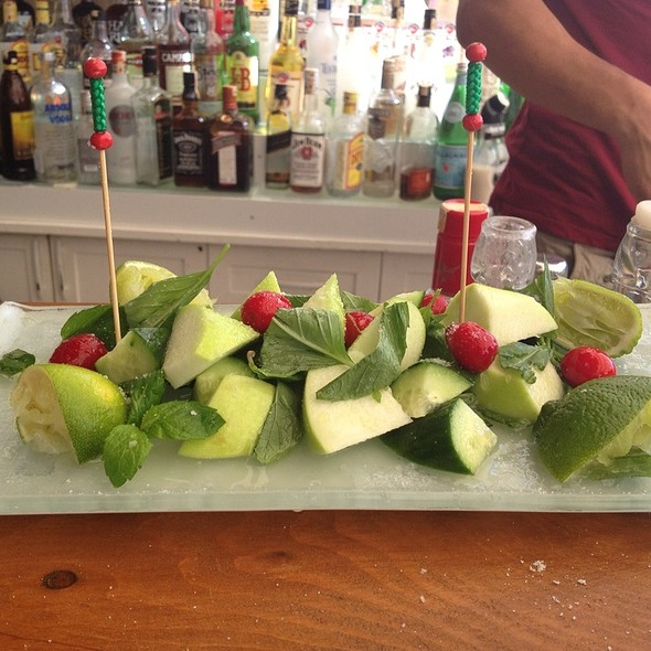 Green Apple& Cucumber With Tequila @ Nur Beach Hotel