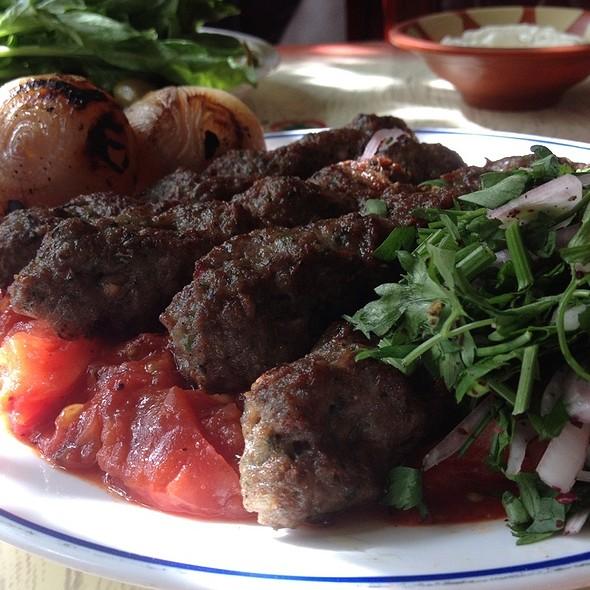 kebab khashkhash @ Lebanese Flower