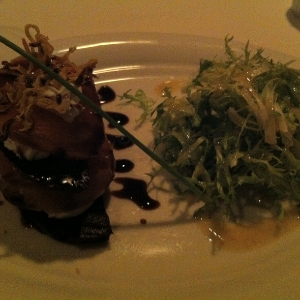 Goat Cheese and Roasted Beet Napoleon @ Sun Dial Restaurant