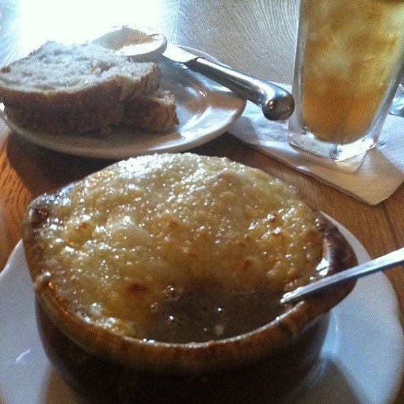 French Onion Soup - Chez Moi, Chicago, IL