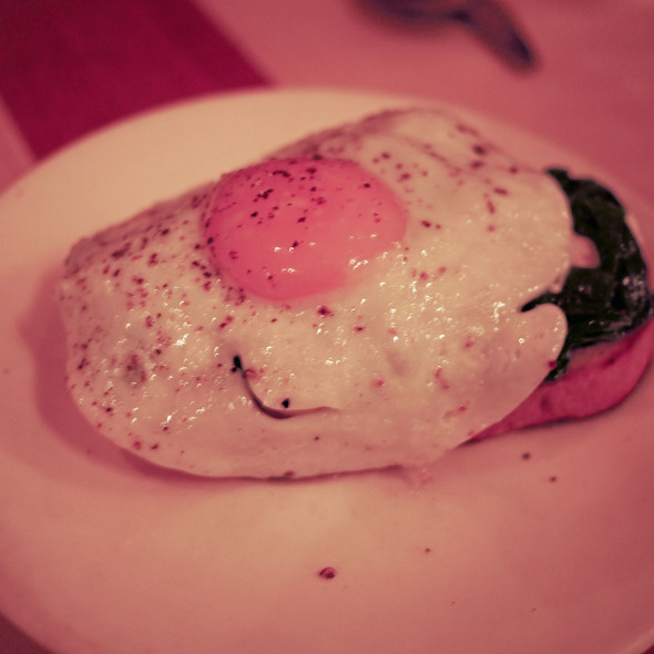 Fried Egg Bruschetta - Terzo, San Francisco, CA