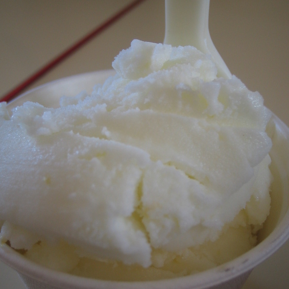 Lemon Buttermilk Sorbet @ Humphry Slocombe