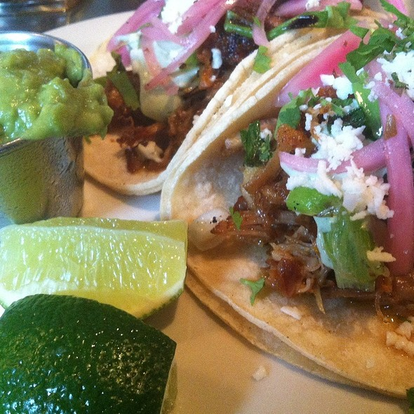 Pork Tacos @ Perch Pub