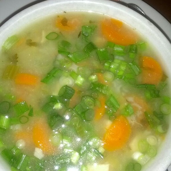 mexican chicken soup @ Crepeville Curtis Park