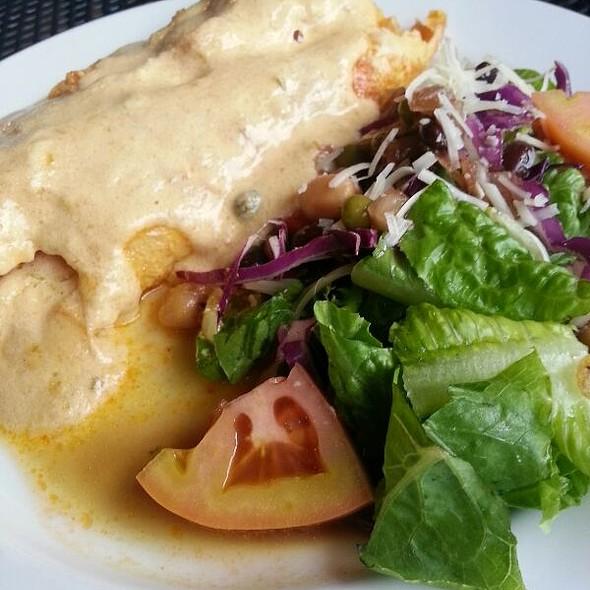Filete Mero Pasa Relleno Camarones