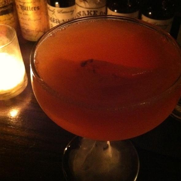 Kerouac Cocktail @ The Burritt Room
