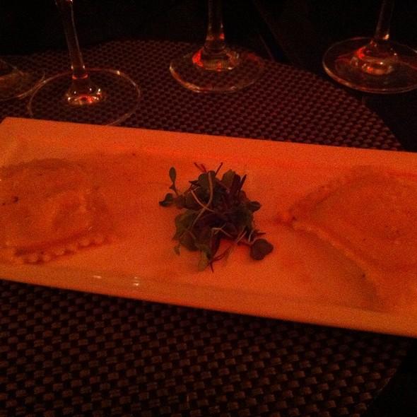 Ravioli Di Ricotta In Truffle Sauce - La Piccola Fontana, Carolina, PR