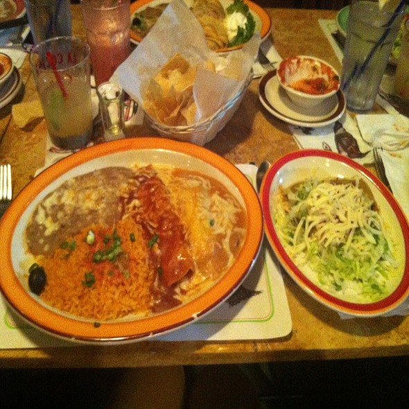 Enchilada, Taco, And Relleno @ La Cocina Bar & Grill