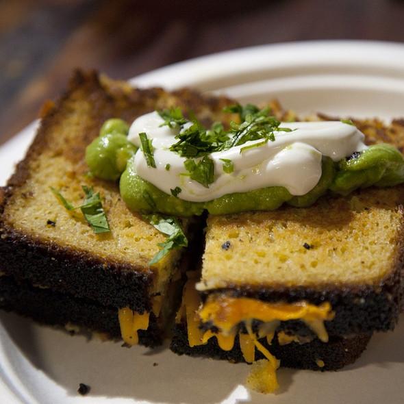 Corn Bread Grilled Cheese @ Toronto Underground Market