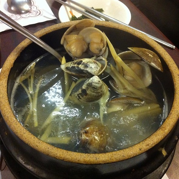 Clam Soup With Ginger
