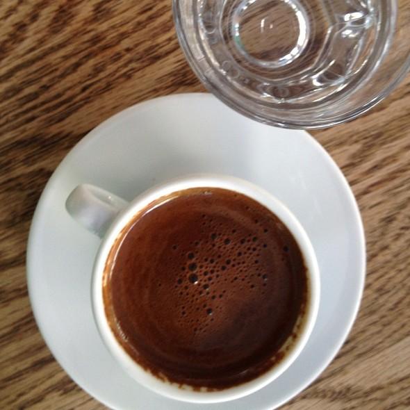 Turkish Coffee @ SIR WİNSTON TEA HOUSE