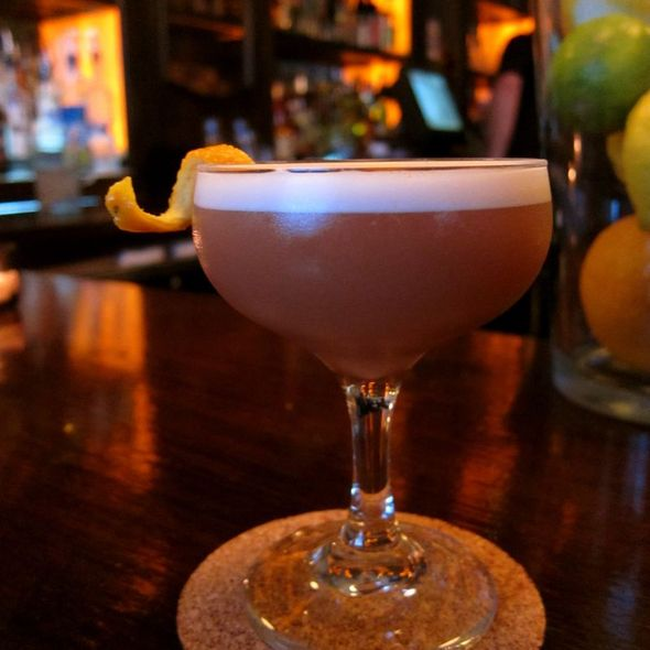 lady grey cocktail @ Adsum Restaurant