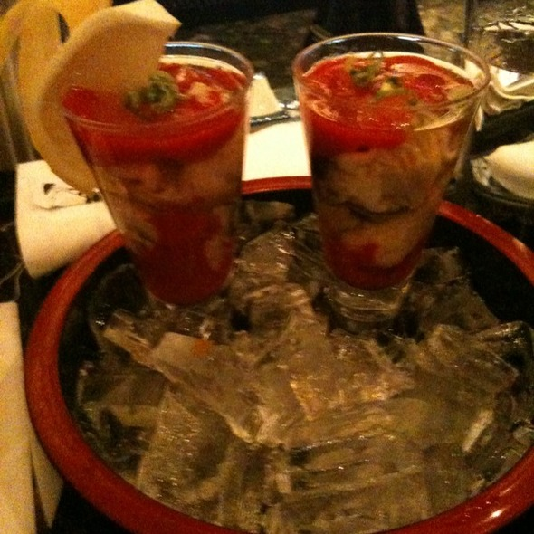 Oyster Shooters - Sai Cafe, Chicago, IL