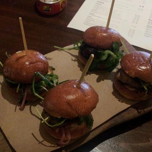 Pork Belly Sliders @ Tavernita