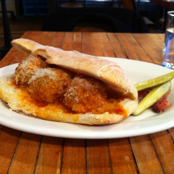 Meatball Sandwich @ Northern Spy Food Co.