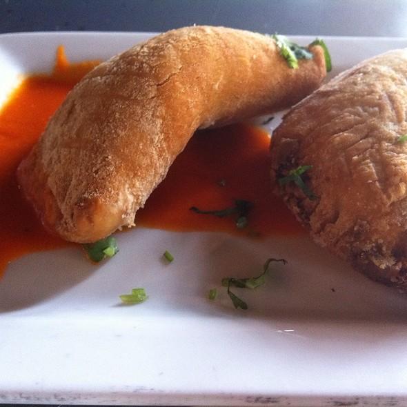 Poblano Empanadas @ AJI Restaurant
