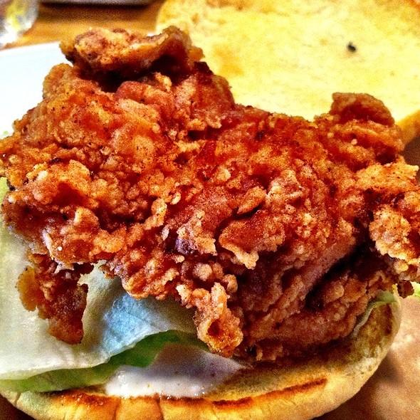 Fried Chicken Sandwich @ Seersucker Restaurant
