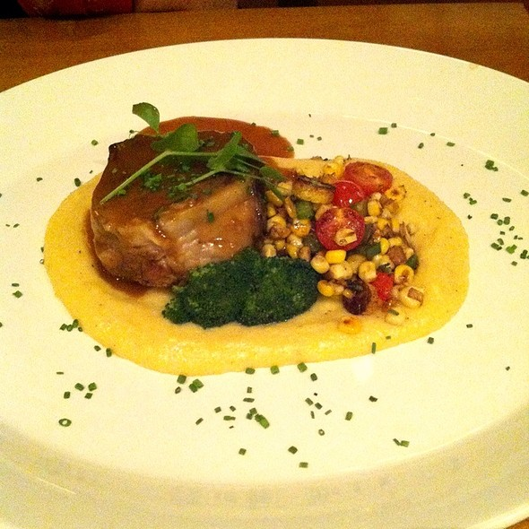 Lamb With Polenta @ Chives Canadian Bistro