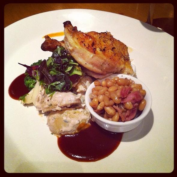 Roast Chicken @ Chives Canadian Bistro