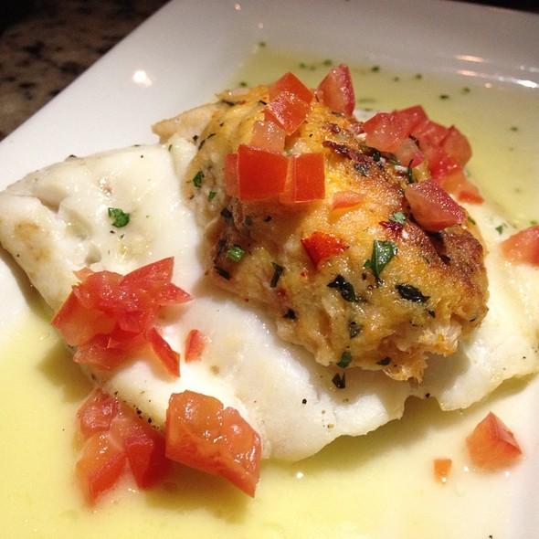 Crab Stuffed Grouper - Mitchell's Fish Market - Jacksonville, Jacksonville, FL