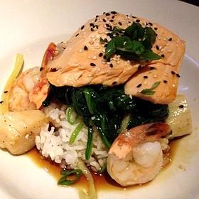 Salmon & Shrimp
