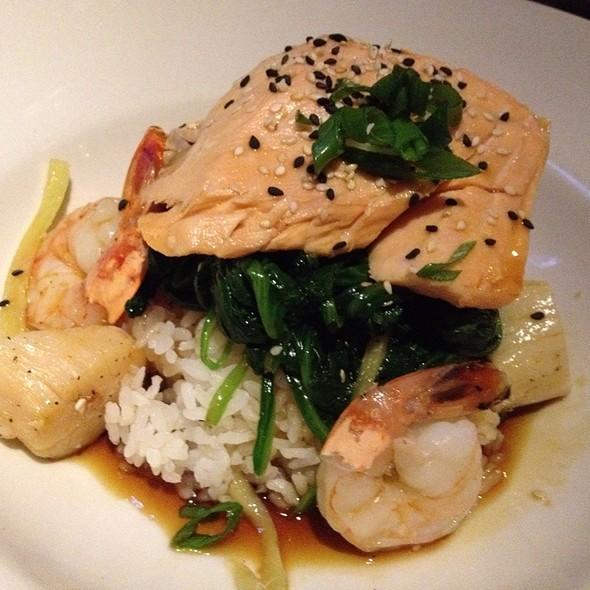 Salmon & Shrimp - Mitchell's Fish Market - Jacksonville, Jacksonville, FL