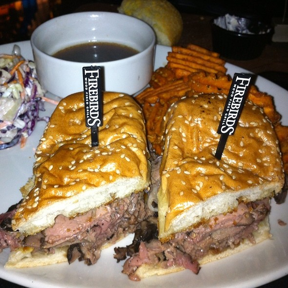 French Dip @ Firebirds Wood Fired Grill