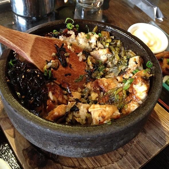 Eel Rice In Stone Pot @ Kingyo