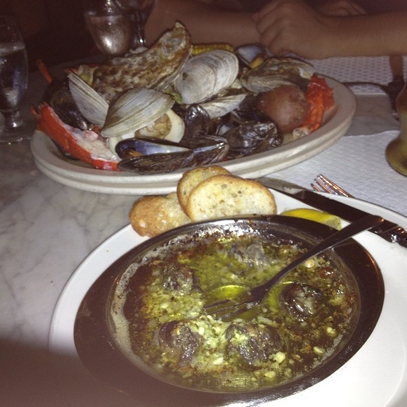 seafood bake - Sea Catch, Washington, DC