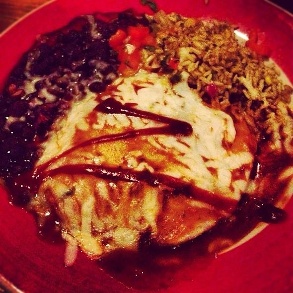Santa Fe Smoked Chicken Enchiladas - Z'Tejas Austin 6th St, Austin, TX