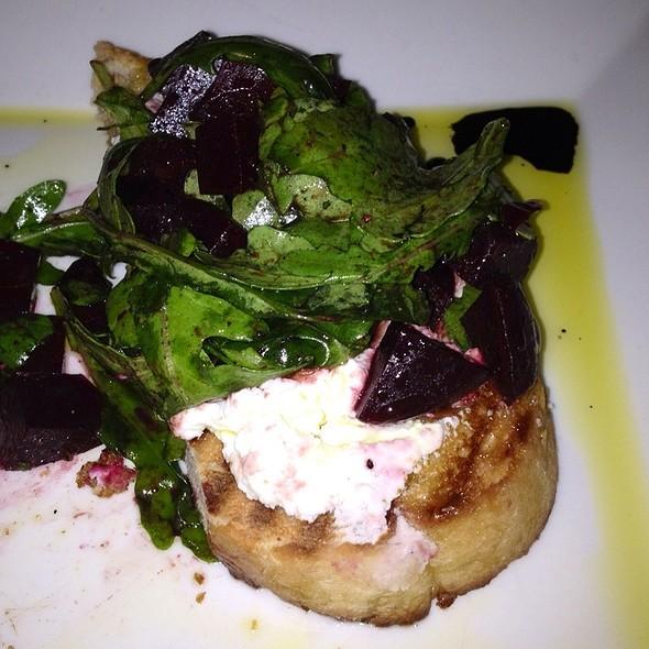 Roasted Beet, Goat Cheese And Arugula Bruschetta - Green Room - Greenville, Greenville, SC