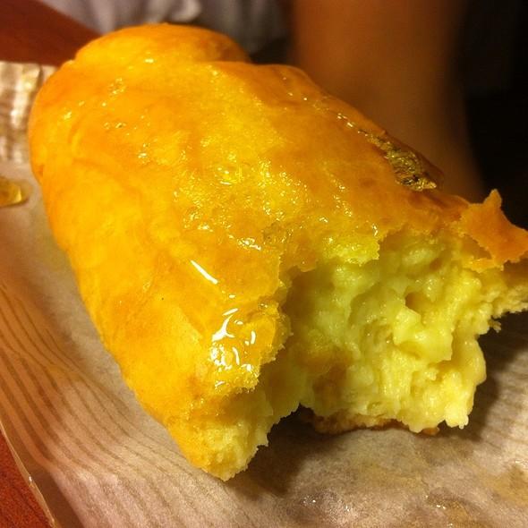 Caramel Eclair @ Portos Bakery