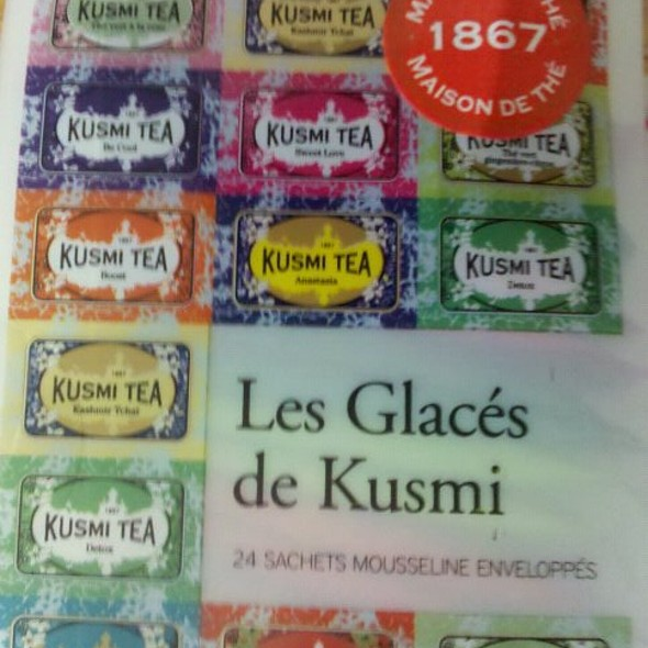Iced tea @ Kusmi Tea
