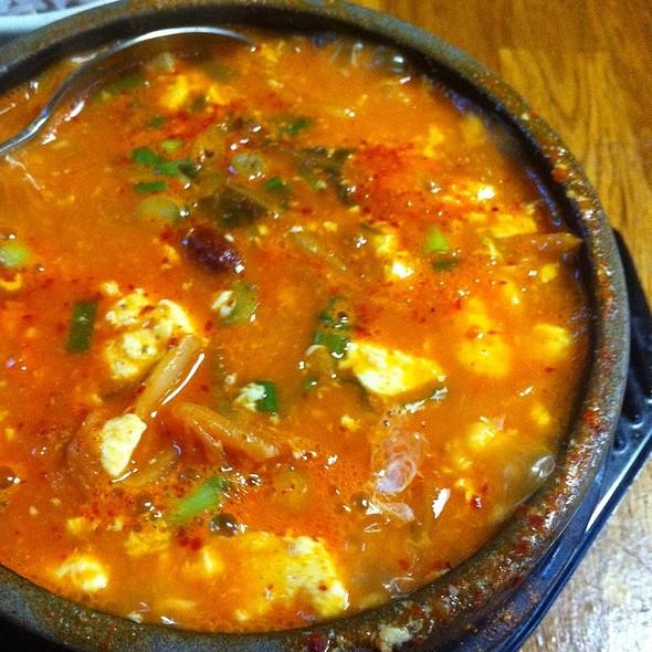 Kimchi Beef Soondubu @ Korean Tofu House