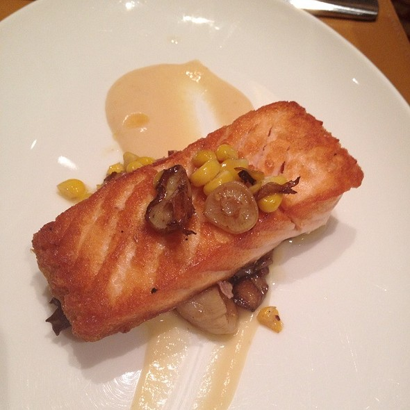 Salmon @ Charlie Palmer at The Joule