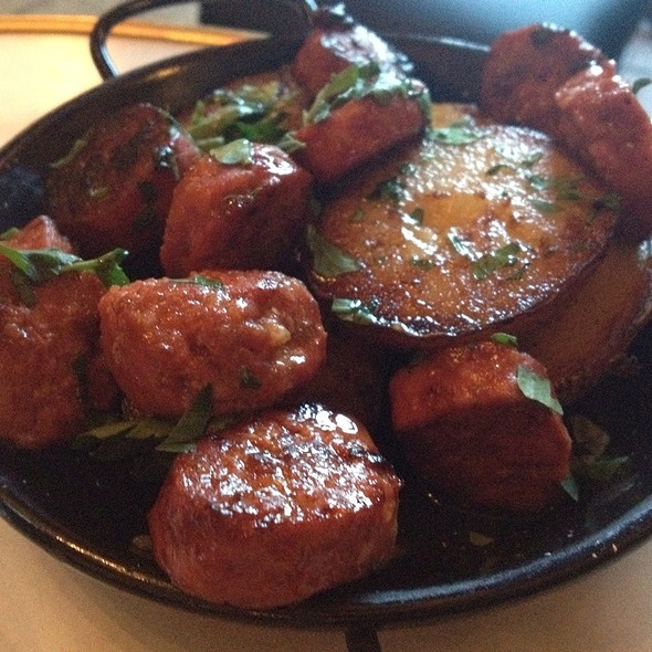 Chorizo With Dutch Cream Potatoes @ Bambini Trust Restaurant & Wine Room