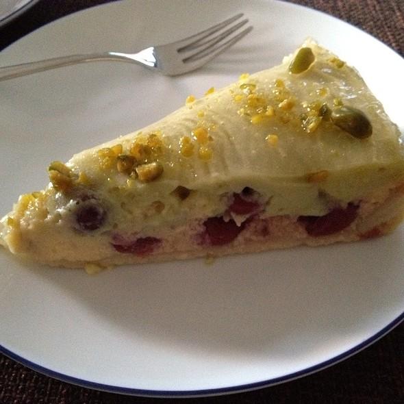 Cheesecake With Cherry And Pistachio @ Madam Miamiam