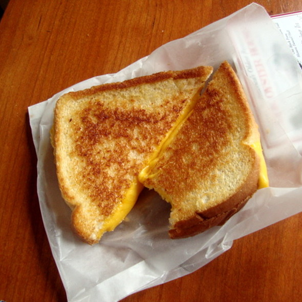 Grilled Cheese Sandwich @ Mmmac N' Cheese