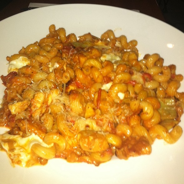 Sausage And Peppers With Pasta @ Grille on Main