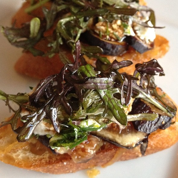 Black Mission Fig Crostini - Rustic Canyon Wine Bar, Santa Monica, CA