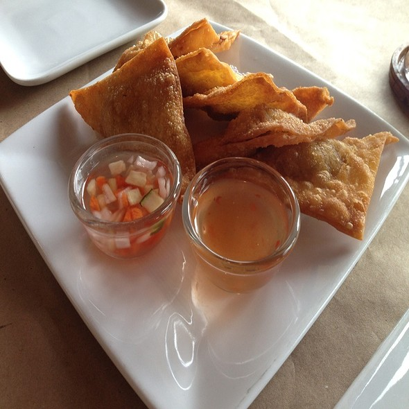 Curry Puffs @ Thai Spice