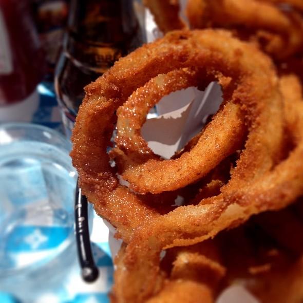 Beer Battered Onion Rings - Sam's Anchor Cafe, Tiburon, CA