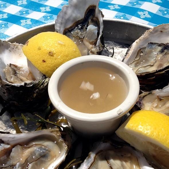 Oysters - Sam's Anchor Cafe, Tiburon, CA