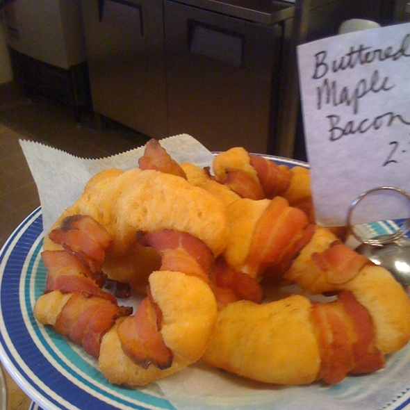 Buttered Maple Bacon Doughnuts @ Dutch Monkey Doughnuts