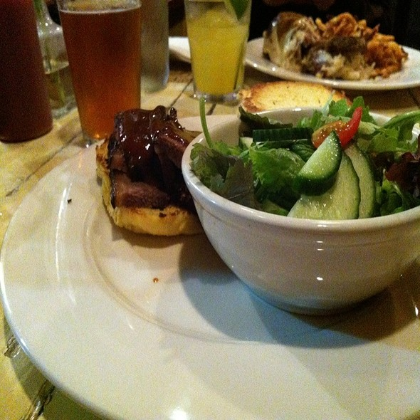Beef Brisket Sandwich @ The Fish And The Hog