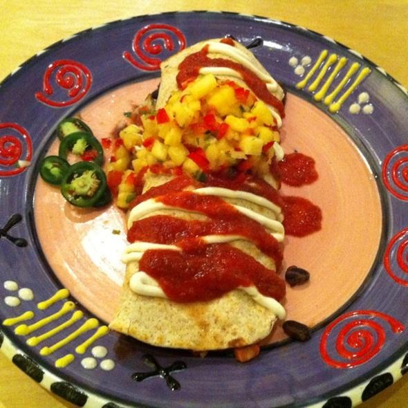 SSK Burrito @ Stone Soup Kitchen