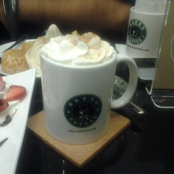 Raees Coffee - Hot Apple Juice With Cinnamon And Cream - Foodspotting
