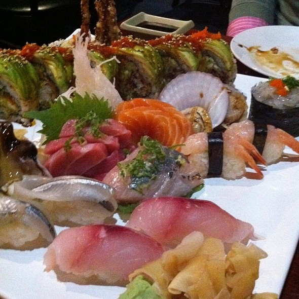 Assorted Sushi @ Pacific East Japanese Restaurant