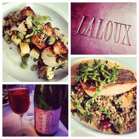 Saumon & Pétoncles @ Restaurant Laloux
