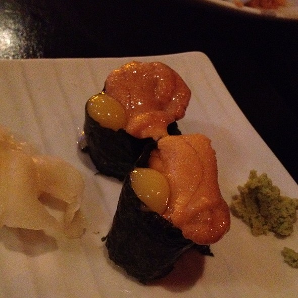 Uni With Quail Egg @ Yakka San